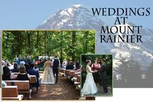 Weddings at Mt. Rainier /  Historic Copper Creek Inn, Cabins and Lodge, located 2 miles from the Nisqually entrance to Mt. Rainier National Park, provides a unique wedding venue. The secluded 6.5 acre property is a beautiful setting hugged by Copper Creek on the east border. Your overnight guests enjoy cabins with hot tubs, solitude along the creek and trails through the woods, and the relaxed natural environment.