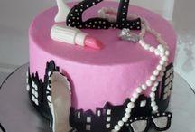 Samantha's 21st cake