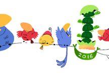 Doodleando 2016 / Doodleando los logos de Google