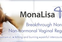 "MonaLisa Touch / 2 in 5 postmenopausal women suffer from vaginal dryness, itching, burning, painful urination, and painful intercourse. Now they don't have to. MonaLisa Touch is a new procedure that patients have called ""life-changing"""
