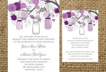 Wedding - Invitations / by Rose Anna