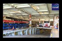 Transport maritime de véhicules / Transport de voitures en container ou en roulier