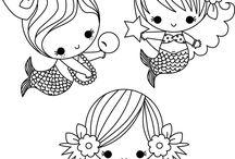 Art & Doodles - Characters - Mermaid