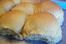 bread machine recipes  / by Leigh Blauvelt
