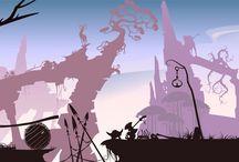 PSDS Game Backgrounds