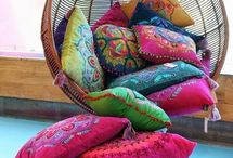 decoración hippy