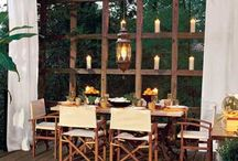 outdoor space / by The Pampered Artist Andrea May