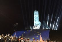70th anniversary of end of World War II in Poland,Westerplatte / 70th anniversary of end of World War II in Poland.  Gdansk, Westerplatte. 7-8.05.2015r. 12stopni.pl Event Furniture
