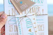 Tarjetas / Ideas tarjetas boda