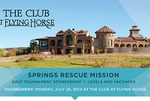 Golf Tournament. / SRM has a golf tournament each year to raise funds to support our many programs.  / by Springs Rescue Mission