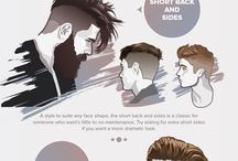 """Hairstyle ideas"" / Hairstyle ideas mostly for myself."