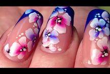 video micropittura flowers