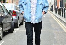 джинсовая куртка мужской стиль