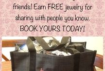 Paparazzi Basket Parties / Basket Parties are are cool way to host a Party! Take a Basket full of Jewelry to Work, School, family and Friends! Earn FREE jewelry for sharing with People you know!
