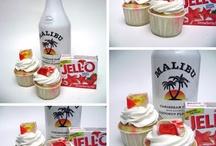 jello cupcakes malibu