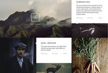 Website Design Inspiration / by Tim Chung