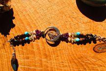 bracelet plumes
