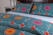 African bedsheets