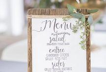 Wedding | Menù