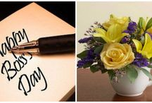Boss' Day & Administrative Professionals Day / FLoral & Gift ideas for Boss' Day & Administrative Professionals Day