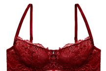 Luxurious lingerie / Luscious lace, sexy silks, voguish velvets - bras, bralettes and panties