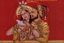 KAMASUTRA - une Trinité / Attribué à un brahmane qui l'aurait écrit au IVe siècle de notre ère, le Kama Sutra constitue l'un des textes majeurs de l'hindouisme médiéval et n'est pas un livre pornographique ; les explications ici : http://devantsoi.forumgratuit.org/