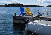 Utemöbler Eco / Förstklassiga utemöbler i 100% återvunnen plast tillverkade i Canada. Adirondack stolar i 16 läckra kulörer som inte bleks och kan stå ute hela året utan underhåll med 10 års garanti.