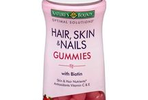 Hair and nail vitamins