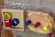 Montessori Infant Language Materials / Language materials for the child of birth - 18 months
