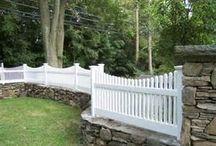 Eplehagen gjerder / Fences