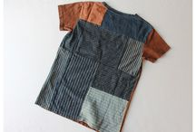 Upcycled textiles / Stylish designs made from repurposed fabrics and clothing.