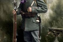 """Faces of World War I / This is a tribute to all the fallen in a war they didn't understand what was about. I would pay a tribute to my grandfather who fought for 3 years on the Austro-Italian front of the Carso in the 4th Cavalry Regiment """"Genova"""" in the 3rd Italian Army"""