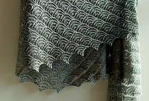 sjal og tørklæder / strikkede sjal og tørklæder