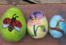 plstění vajíčka