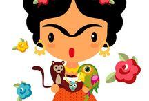 Frida Kahlo Infantil