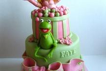 Children Birthday Cake - Girl