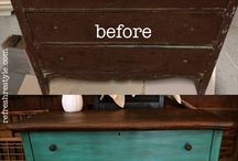 Old furniture repair