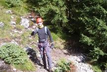 Florian sulla ferrata Stevia/S. Pertini - Florian am Stevia/S. Pertini Klettersteig - Florian on Stevia/S. Pertini climbing trail