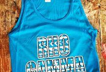 Rho Gamma Shirts
