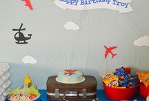 Airplane theme birthday