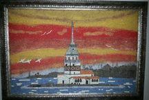 my mosaics / Doğal taş mozaik