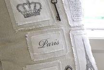 linen and home / len a výrobky ze lnu, venkov, proutí