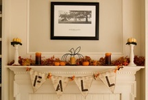 *Fall* decorating  / by Cassy Kish