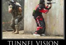 Paint ball / Paint Balling, Guns,