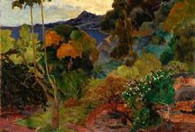 Art: Paul Gauguin / French painter 1848-1903. Post-impressionism, Primitivism