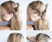 frisurer og hår opsætning