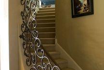 Lépcsők korlátok