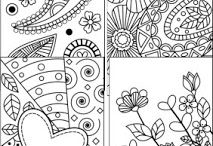 Coloring Bookmarks!