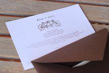 Diseño de Invitaciones y Recordatorios / Nuestros diseños creados para invitaciones y recordatorios de fiestas y ceremonias