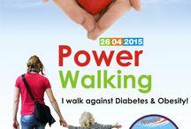 5. Δυναμικό Βάδισμα - Power Walking / Power Walking: I walk against Diabetes & Obesity!